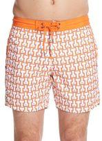 Mr.Swim Temple Printed Swim Shorts