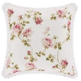 """Royal Court Rosemary Rose 16"""" Square Decorative Throw Pillow Bedding"""
