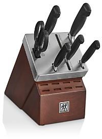 Zwilling J.A. Henckels Four-Star Self-Sharpening 7-Piece Knife Block Set