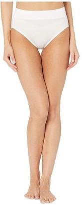 Warner's No Pinching No Problems Seamless High-Cut Panty (White) Women's Underwear