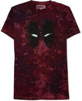 JEM Men's Marvel Deadpool Splatter Graphic-Print T-Shirt
