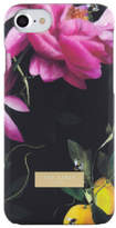 Ted Baker NEW Case for iPhone 7 Citrus Bloom - Black