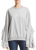 J.o.a. Cascade-Sleeve Sweatshirt - 100% Exclusive