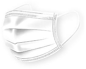 Medipop Disposable Face Masks, Set of 5