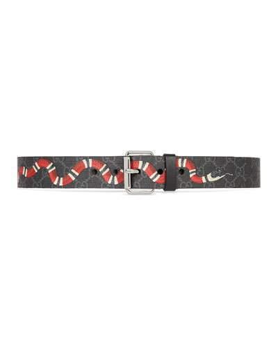 077503c7b Gucci Canvas Belts For Men - ShopStyle