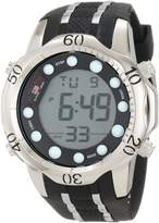 U.S. Polo Assn. Sport Men's US9222 Silicone Digital Watch