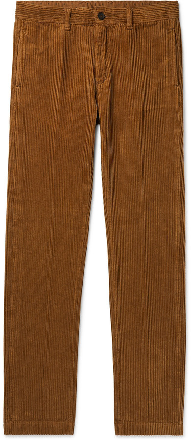 top-rated fashion 60% clearance luxury Cotton-Corduroy Trousers