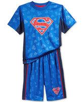 Superman 2-Pc. Shirt & Shorts Set, Toddler & Little Boys (2T-7)