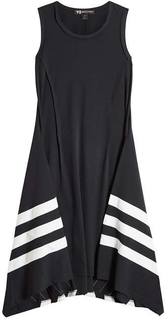 Y-3 Sleeveless Cotton Dress