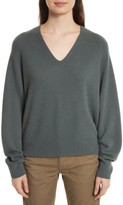 Vince Women's Deep V-Neck Cashmere Sweater