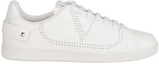 Valentino Rockstud Detailed Backnet Sneakers