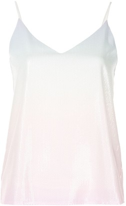 Olivia Rubin Sequinned Ombre Cami Top