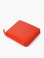 Comme Des Garcons Wallet Orange Classic Leather Wallet
