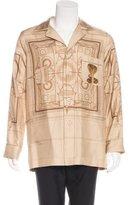 Givenchy 2016 Blueprint Cobra Pajama Shirt
