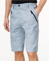 "Sean John Men's Zipper Detail Pocket Flight 12.5"" Stretch Shorts, Only at Macy's"