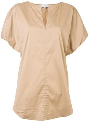 Lee Mathews Alice puff-sleeve blouse