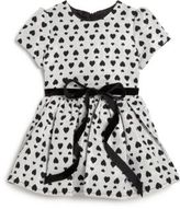 Halabaloo Toddler's & Little Girl's Allover-Heart Party Dress