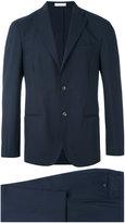 Boglioli fitted classic suit - men - Acetate/Cupro/Virgin Wool - 50