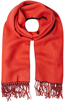 White Stuff Claudia Midweight Scarf, Crimson Red