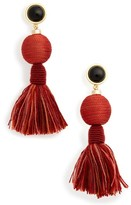Lizzie Fortunato Women's Modern Craft Tassel Drop Earrings