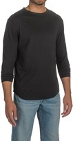Threads 4 Thought Raw Crew Neck Shirt - Organic Cotton, Long Sleeve (For Men)