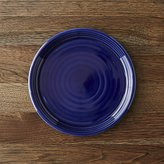 Crate & Barrel Farmhouse Blue Salad Plate