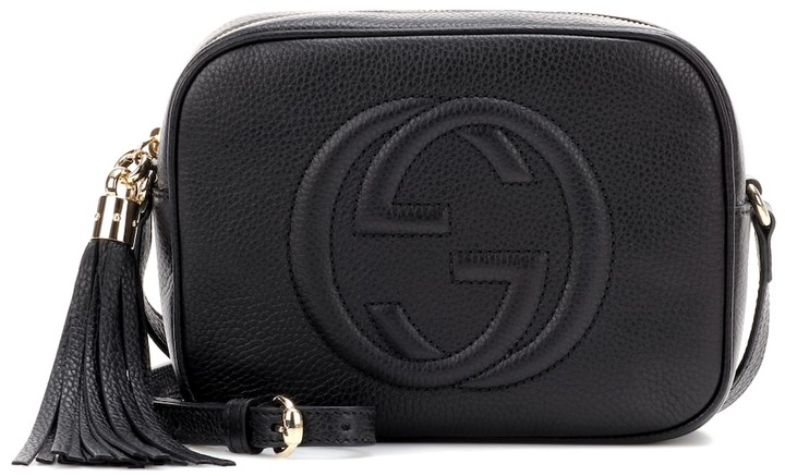 40fbba031dc9 Gucci Black Leather Crossbody Bags For Women - ShopStyle Canada