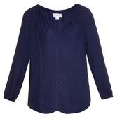 Velvet by Graham & Spencer Alissa jacquard blouse