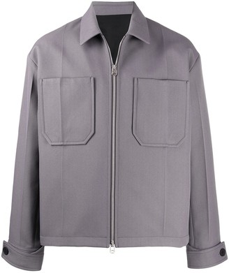 Oamc Zipped-Front Shirt Jacket