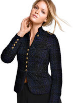 Victoria's Secret NEW! Tweed Military Jacket