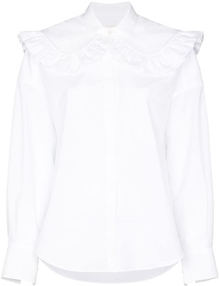 SHUSHU/TONG Ruffled Cotton Shirt