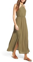 Lush Women's Woven Maxi Dress