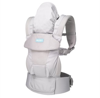 Moby Wrap Moby - Move 4 Position Carrier - Glacier Grey