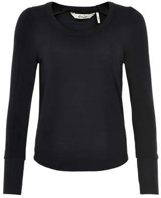 And Less - Caviar New Iniga Blouse - Size S | cotton | black - Black/Black