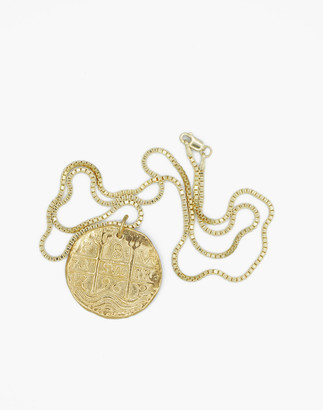 Madewell Charlotte Cauwe Studio Coin Medallion Necklace