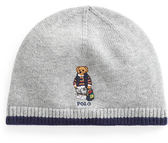 Ralph Lauren Backpack Bear Merino Hat