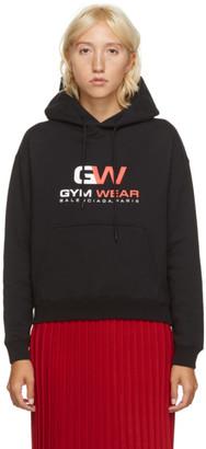 Balenciaga Black Small Fit Gym Wear Hoodie