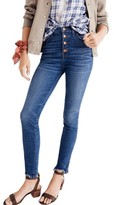 Madewell Women's 10-Inch Chewed Hem Skinny Jeans
