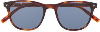 Lacoste x Novak Djokovic Collection square-frame sunglasses