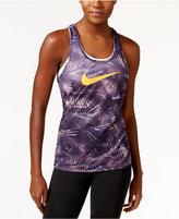 Nike Dry Printed Racerback Tank Top
