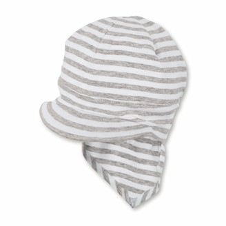 Sterntaler Girl's Beanie hat with Neck Protection