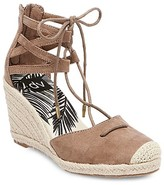 dv Women's dv Manica Ghillie Espadrille Wedge Sandals - Taupe 10