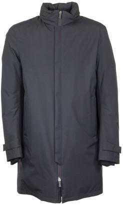 Herno Waterproof Laminar Down Jacket With Concealed Hood