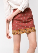MANGO Outlet Mirror-Embellished Ethnic Skirt