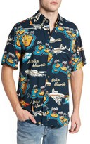 Reyn Spooner Men's Birds In Paradise Modern Fit Shirt