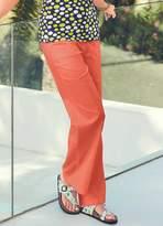Kaleidoscope Linen Rich Trousers