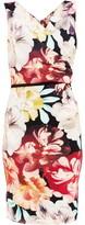 Gina Bacconi Elena Floral Jersey Dress
