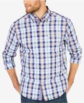 Nautica Men's Big & Tall Large Plaid Shirt