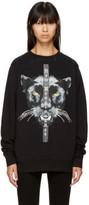Marcelo Burlon County of Milan Black new Renaissance Mank Sweatshirt