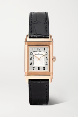 Jaeger-LeCoultre Jaeger Lecoultre Reverso Classic Small 21mm Rose Gold And Alligator Watch